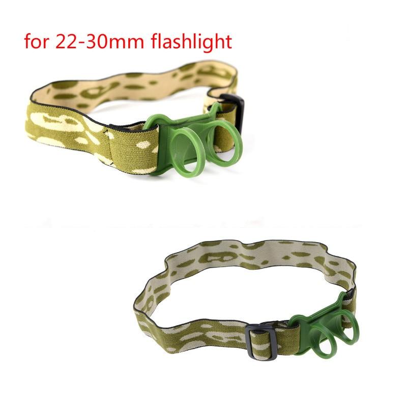 Headband Head Belt Head Strap Mount Holder For 18650 Headlight Flashlight Lamp Torch Headlamp