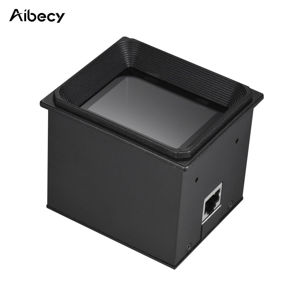 Aibecy 2d/QR/1d incrustado módulo escáner bar code escáner Motores con USB RS232 cable 960*640 COMS para supermercados