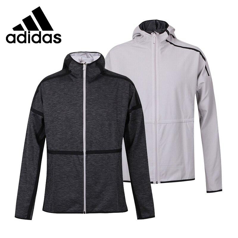 Original New Arrival 2018 Adidas M ZNE REVERS HD Men's reversible jacket Hooded Sportswear original new arrival official adidas men s breathable knitted jacket hooded leisure sportswear
