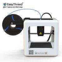 2019 Новый EasyThreed ET 4000 Новый 3D принтер нано мини образовательный бытовой 3D DIY комплект принтер один ключ Printi/принт материал PLA