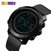 Brand SKMEI Watch Luxury Bluetooth Smart Watch Men Waterproof Calorie Running Wrist Watches Fashion G Style Shock Women's Watch