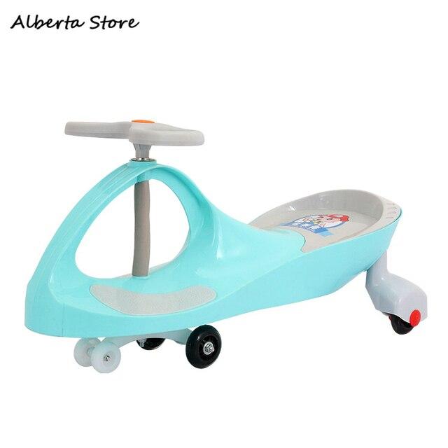 2019 New Children Ride on Car Twist Car Quiet Wheel Sliding Human Rollover Prevention Swing Car Turn The Steering Wheel To Slide