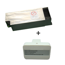 vilaxh T6910 Maintenance Tank with chip + 4900 Chip Resetter For Epson Stylus Pro 4910 SureColor P5000 P5080 Printer