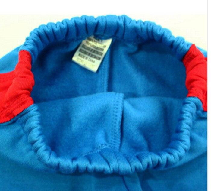 b1584b039c157 Free shipping kids boys' peppa pig George pig tracksuits blue cotton ...
