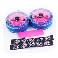 Dual Color Fouriers Handlebar Tape Bicycle bind Material PU leather anti skid wear resistant and sweat absorbing Handlebar Tape