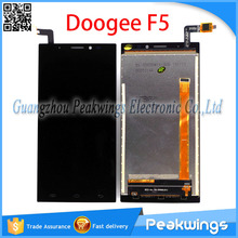 Black 5.5 inch 1920×1080 Tested Quality Touch For DOOGEE F5 LCD Display Screen