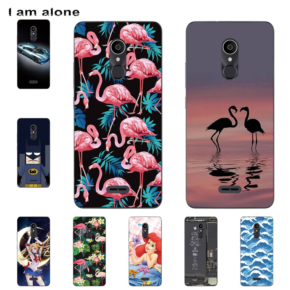 I Am Alone Phone Cover For Alcatel Alcatel 3C 3C Dual 5026D 6.0 Inch Solf TPU Cellphone Fashion Cases Shipping Free