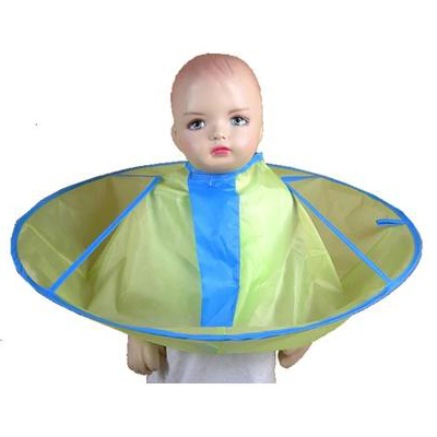 baby children kid umbrella hair cutting cape waterproof smooth 3pcs/lot