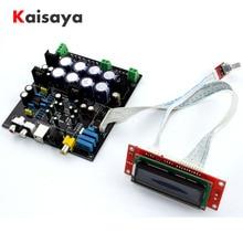 without USB daughter card AK4490 + AK4118 + op amp NE5532 decodificador Soft control DAC audio decoder board D3 003