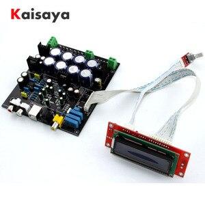 Image 1 - without USB daughter card AK4490 + AK4118 + op amp NE5532 decodificador Soft control DAC audio decoder board D3 003