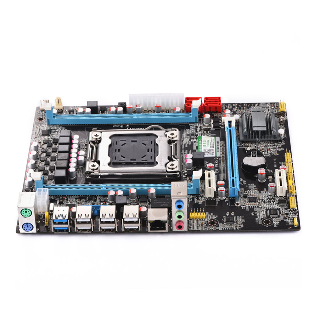 <font><b>E5</b></font> 2680 <font><b>2670</b></font> Easy Install USB Upgrade Version CPU Interface Durable Professional PCI Express Motherboard Stable PCI E LGA 2011 image