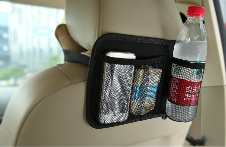 Buy Car Headrest Back Simple Stylist Storage Pocket Bags
