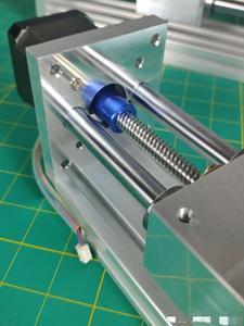 Image 4 - Шаговый электродвигатель NEMA17/23 с ЧПУ, направляющая по оси Z для 3D принтера Reprap, запчасти с ЧПУ, дорожный ЧПУ роутер 170/270 мм, Линейный Привод движения