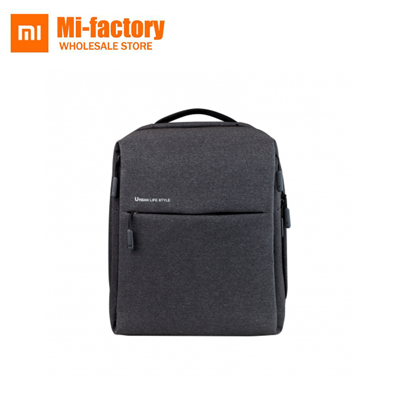 Xiaomi Backpack For Women Men Mi Urban Life Style Polyester Business Office Travel Backpacks School Laptop Bag
