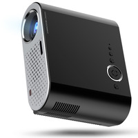 Centechia Portable GP90 Mini Multimedia Projector 1080P Full HD LCD LED Home Theater USB TV Video