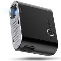 Centechia Portable GP90 Mini Multimedia Projector 1080P Full HD LCD LED Home Theater USB TV Video