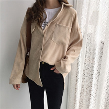 New Vintage Long Sleeve Shirts Spring and autumn Women Solid
