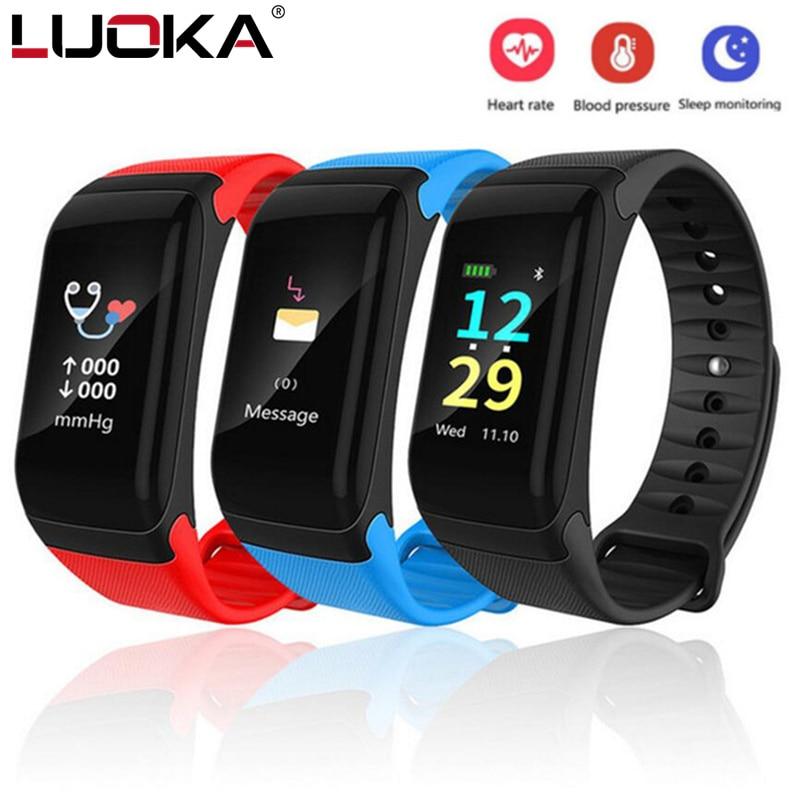 Wasserdichte Fitness Tracker Farbe Bildschirm Sport Smart Armband Anruf Erinnerung Schritt Puls Herzfrequenz Monitor Mit Pk fitbits miband2