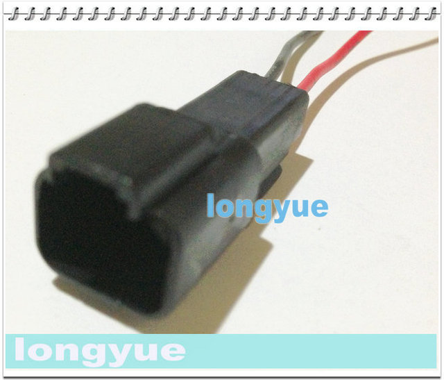 longyue 10pcs 2 way sealed motors repair connector pigtail wiring harness  15cm wire