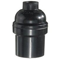 5PCS Black E27 E26 Light Bulb Holder Pendant Edison Screw Cap Lamp Socket Vintage