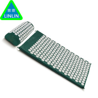 Body Head Foot Massager Cushion Acupressure Mat Relieve Stress Pain Acupuncture Spike Yoga Mat With Pillow
