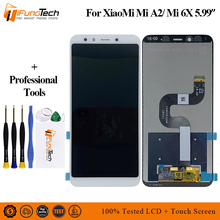 LCD for XIAOMI Mi A2 LCD Display Digitizer 10 Touch Screen Panel for XIAOMI Mi 6X LCD Digitizer Replacement Repair Repair Parts for honey well hhp lxe mx7 lcd display inner screen and touch screen digitizer panel parts 100