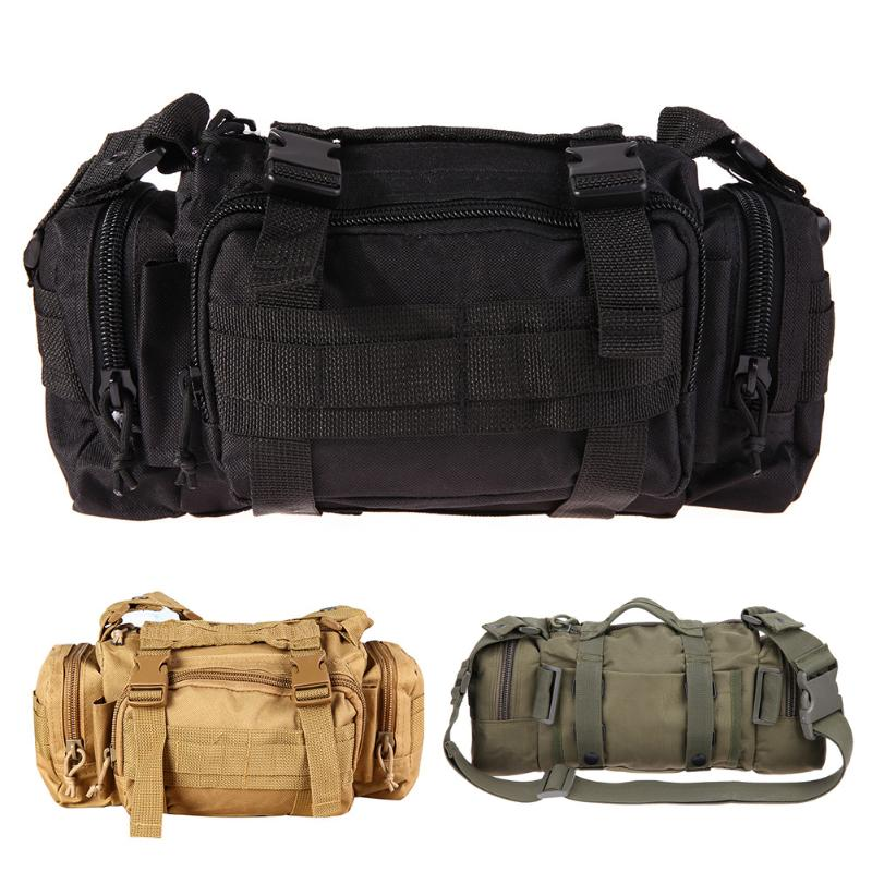 Military Tactical Bag Pack Backpack Army Molle Waterproof Bug Out Bag Small Rucksack for Outdoor Hiking Camping Hunting 3Colors lqarmy 3 day expandable backpack with waist pack large rucksack tactical backpack molle assault bag for day hiking tan