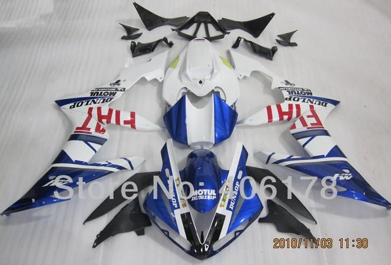 Offres spéciales, carénages Yzf 1000 R1 04-06 personnalisés pour Yamaha Yzf R1 2004-2006 nouveaux kits de carrosserie FIAT (moulage par Injection)