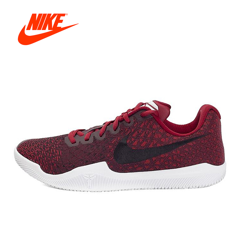 Original NIKE New Arrival Men's Basketball Low-Top Breathable Sport Shoes Sneakers Outdoor Sneakers Comfortable original new arrival nike men s high top lightest leather basketball shoes sneakers