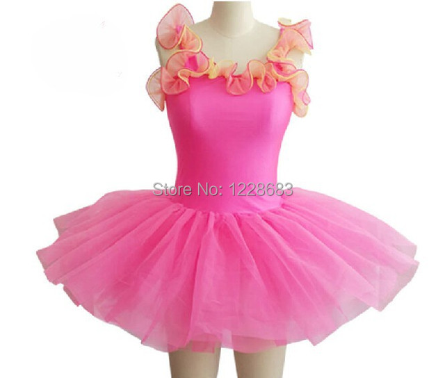 1ace44f2b4 Infantil Dancewear Tutu de Bailarina Para As Meninas Vestidos de Aniversário  Das Meninas Vestido de Festa