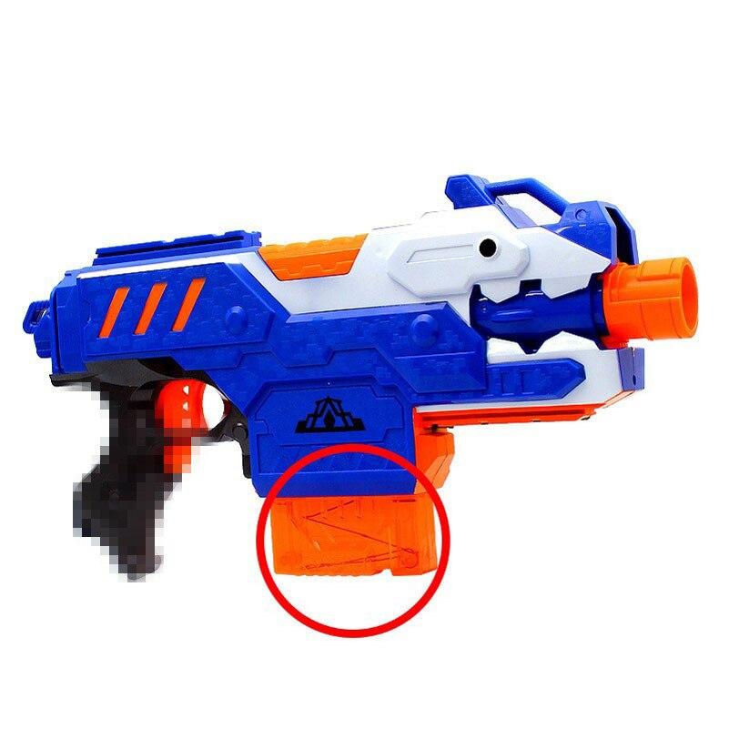 12-Reload-Clip-Magazines-Round-Darts-Replacement-Plastic-Magazine-Toy-Gun-Soft-Bullet-Clip-Orange-N-Strike-Elite-Kids-5