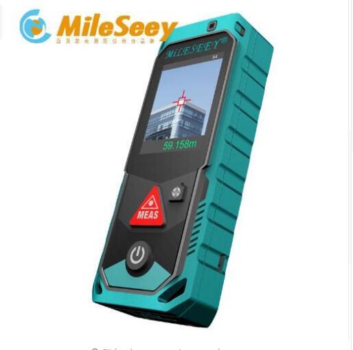 Mileseey P7 80M 150M 200M Bluetooth Laser Rangefinder with Digital Laser Distance M Rechargerable Laser Meter thgs mileseey p7 bluetooth laser rangefinder with rotary touch screen rechargerable laser meter