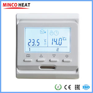 ( 1 PC) 220 V LCD Programmable Electric Digital Floor Heating Room Air Thermostat