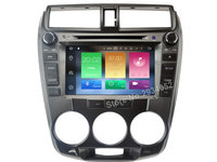 FOR HONDA CITY 2008 2012 Android 6 0 Car DVD Player Octa Core 8Core 2GRAM 1080P