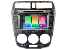 FOR HONDA CITY 2008-2012 Android 8.0 Car DVD player Octa-Core 8Core 4G RAM 1080P 32GB ROM gps multimedia head device unit stereo