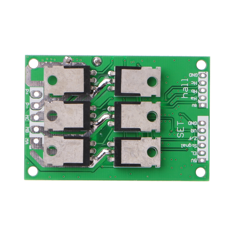 High Quality 2019 New DC 12V-36V 15A 500W Brushless Motor Controller Hall BLDC Driver Board