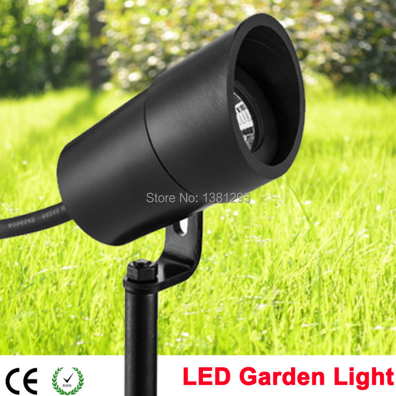 Outdoor Waterproof Led Garden Spot Light 12v 3w Cob Ip67