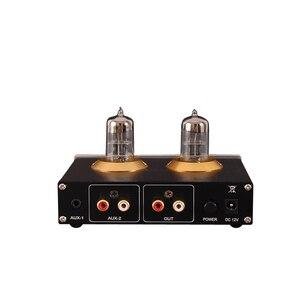 Image 4 - قائمة جديدة A3 أنبوب مكبر للصوت HIFI 6N3Tube سماعة مكبر كهربائي