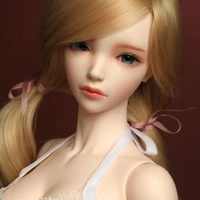 New Arrival 1/3 BJD Doll BJD/SD Europe Style Sexy Maid Cheries Resin Joint Doll For Baby Girl Gift With Eyes