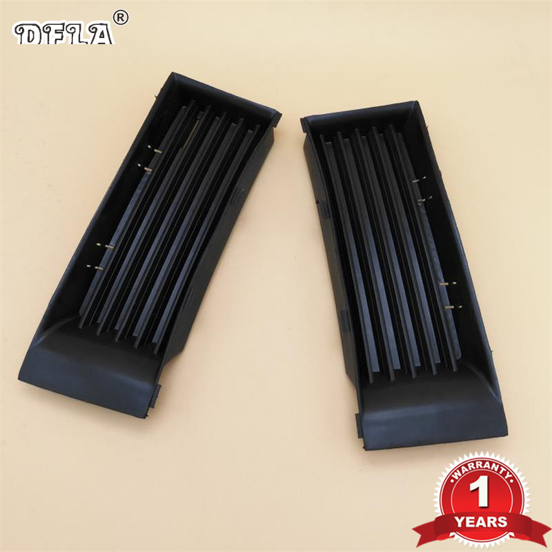 Fog Light Cover For Skoda Fabia MK1 2000 2001 2002 2003 2004 Car-Styling Front Bumper Fog Light Cover Cap Grille