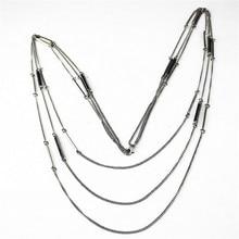 Frete grátis nova moda jóias senhoras Longo parágrafo camisola cadeia de retro longo colar geométrica menina acessórios New wholesa