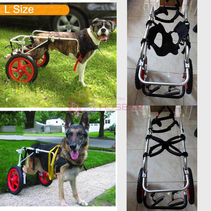 General Paralysis Dog Scooter Disabled Cat Dog Pet Wheelchair For Handicapped Doggie Puppy Cart Cat