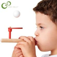 モンテッソーリ材料赤ちゃん木のおもちゃschyllingブロー趣味屋外楽しいスポーツおもちゃボール泡フローティングボールyyy S5