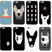 bull terrier dog puppies Silicone TPU Soft phone case For Samsung Galaxy S3  S4 S5 S6 8e89699a3608