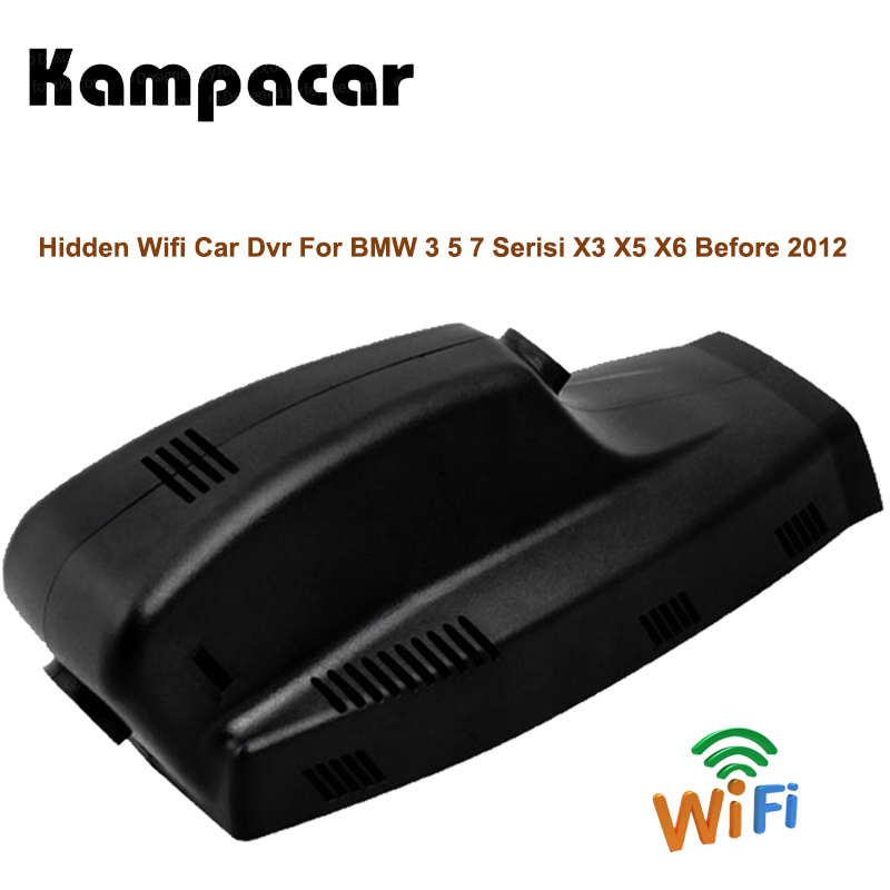Kampacar Car Dvr Camera Video Recorder For BMW 3 5 Serisi 7 Series X3 X5 X6 Before 2012 E46 E60 E90 E70 E71 E81 E83 E84 F01 F10 bigbigroad for bmw 3 5 7 series before 2012 f10 z4 e9 750li x3 x5 x6 e61 535d car wifi dvr video recorder dash dual cameras
