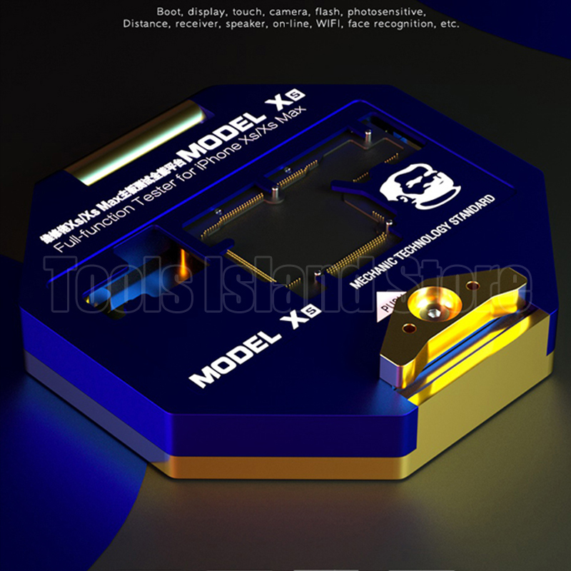 Mechanic iSocket PCB Mainboard Holder Fixture Jig for iPhone XS XS MAX Board Full Function Tester Maintenance Fixture
