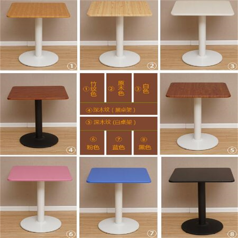 60*60*75CM Square Bar Table Negotiating Table Modern Dining Table Coffee Table negotiating