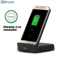 Ollivan Qi Wireless Charger Mobile Phone Charger For Samsung Galaxy S8 Note8 Quick Charge Fast Charging