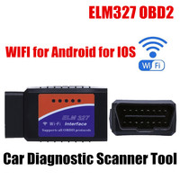 High Quality Universal Fit For Android WIFI Mini ELM327 Auto Scanner OBD Car Scanner Code Reader