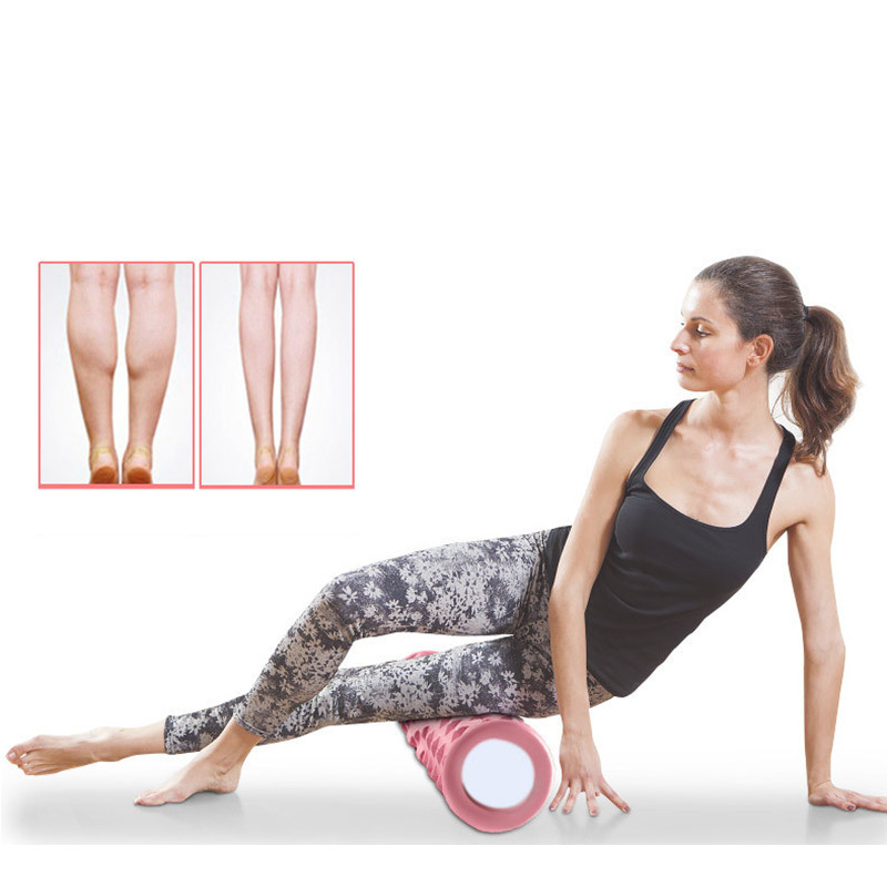 3 pièces Yoga masseur rouleau Yoga Massage bâton Yoga Massage balle Fitness Gym Pilates exercice musculation Relaxation musculaire - 6